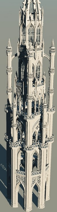 Fantasy Gothic Tower