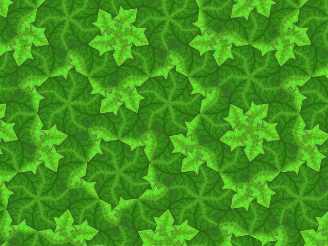 PenroseTileLeaves Decorative Penrose Tiles