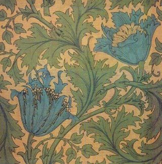 Tiling William Morris Wallpaper Backgrounds Diana