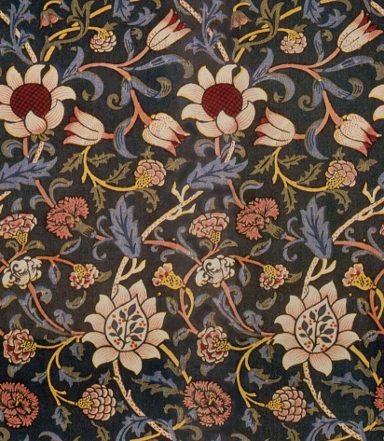 Tiling William Morris Wallpaper Backgrounds Diana